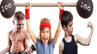 Photo of كمال الأجسام للأطفال بطريقة صحية وسليمة