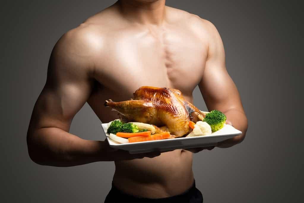 النظام الغذائي للاعبي كمال الأجسام للمبتدئين