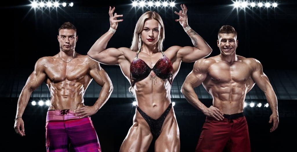 صور لاعبي كمال أجسام